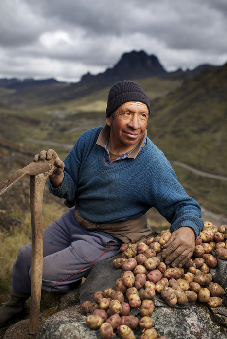 Finding the Faces of Farming: A Peruvian Potato Harvest | PROOF | Miss Mandy's Online Finds | Scoop.it