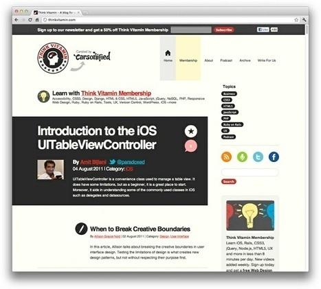 15 Tutoriales para Aprender A Diseñar Sitios Web Responsive   CreativaSfera   DESAROLLO DE SOFTWARE   Scoop.it