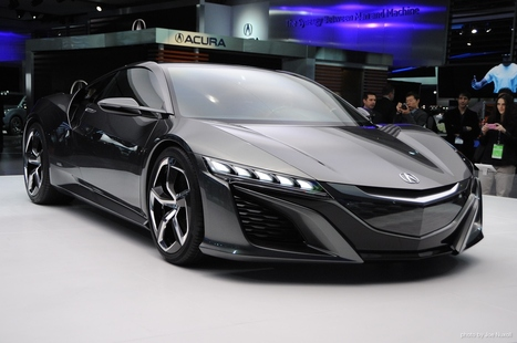 Honda Releases Concept Model Data For 3D Printing, Including New Acura NSX - Motor Authority | Machinimania | Scoop.it
