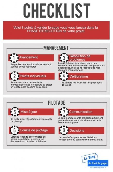 Checklist de la phase d'exécution d'un projet - Le blog du Chef de projet | GP Gestion de projet | Scoop.it