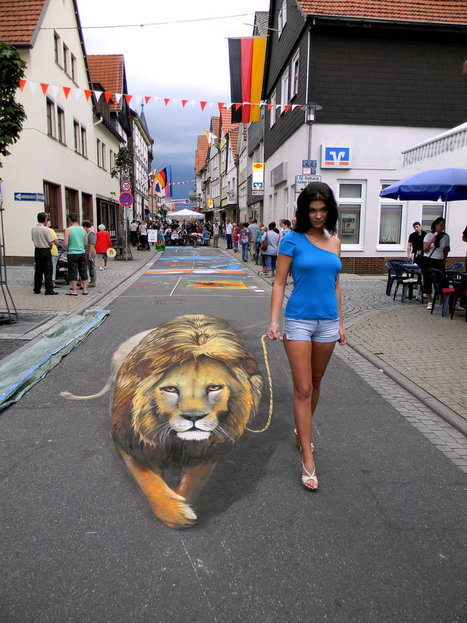 Exclusive Interview with An Exceptional 3D Street Artist | Machinimania | Scoop.it