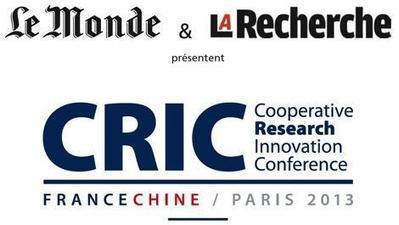 Journée de rencontres pour la coopération dans l'innovation et la recherche avec la Chine | La Recherche | R&D&I Coopération franco-chinoise | Scoop.it
