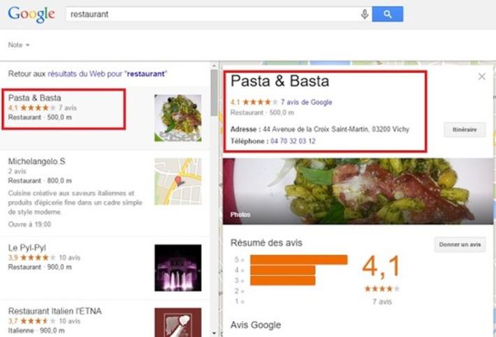 Google Local réduit le nombre de résultats locaux et éjecte les pages Google My Business | SEO et Social Media Marketing | Scoop.it