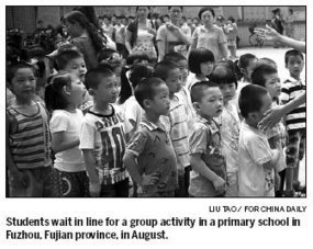Should boys start school after girls? - China Daily | Discrimination in the Education system | Scoop.it