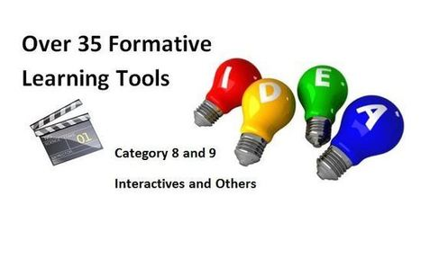 35 Formative Assessment Tools To Enhance Formative Learning Opportunities | Purposeful Pedagogy | Scoop.it