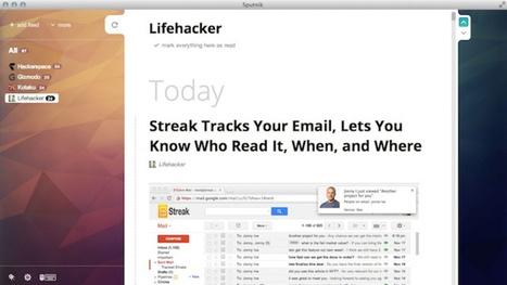 Sputnik Is a Pretty, Shortcut-Based Desktop RSS Reader   Caterease   Scoop.it