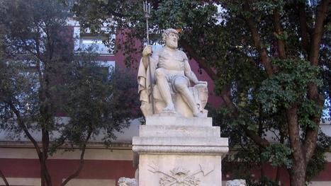 El dios pagano que vive junto a la Basílica de la Mercè | Mitología clásica | Scoop.it