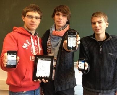 L'Avenir⎥Trois étudiants de l'ULg créent une application pour ne plus se perdre sur le campus | test_fevrier 2013 | Scoop.it