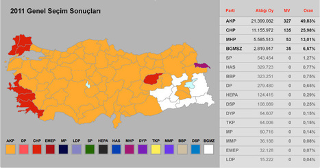 πως ψήφισαν οι Τούρκοι στη Ελλάδα YUNANİSTAN seçim sonuçları | Politically Incorrect | Scoop.it