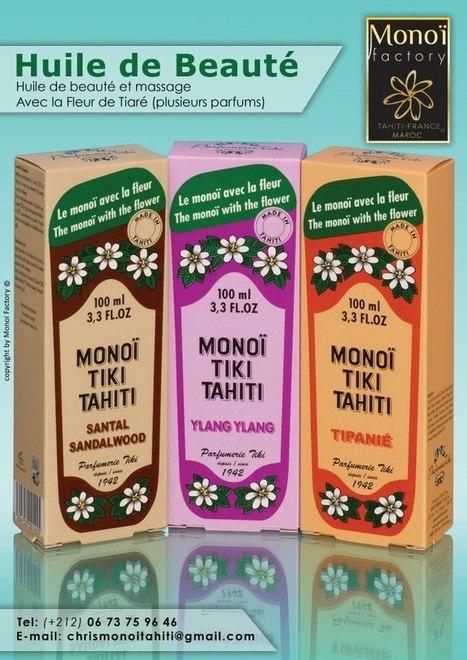 Huile de beauté , 6 parfums disponibles par Aloha Monoi Factory...Santal Ylang Ylang Tipanié | Products by Aloha Monoi Factory | Scoop.it