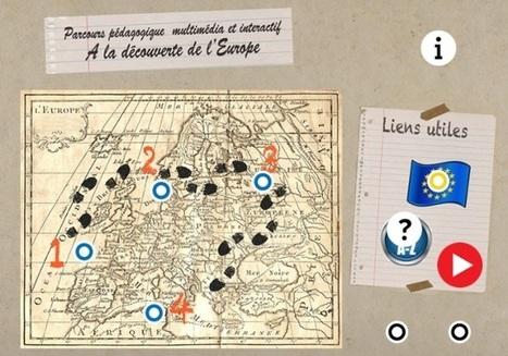 Parcours pédagogique interactif  et multimédia sur l'Europe et les Européens. | e-Ressources, pédagogie  & Ecole pour tous | Scoop.it