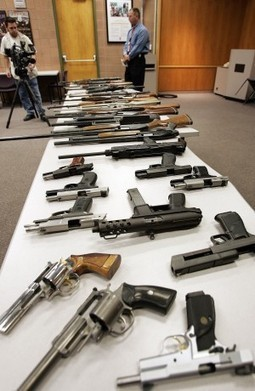 Legally-bought guns used in many cop killings | Gun Violence | Scoop.it
