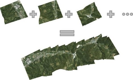 Using Drones to Create Fast Orthorectified Maps - GIS Lounge | Design | Scoop.it