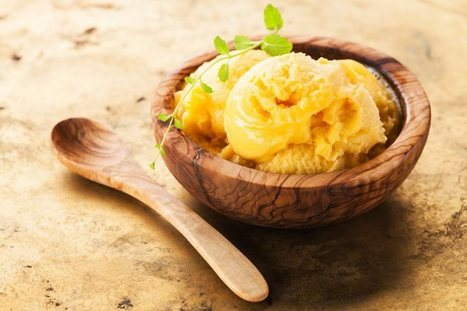 MANGO AND PINEAPPLE ICE CREAM Vegetarian Recipe | Food for Foodies | Scoop.it