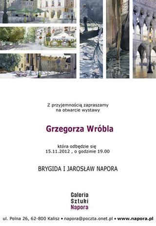 WATERart - Grzegorz Wróbel Watercolors | ciberpocket | Scoop.it