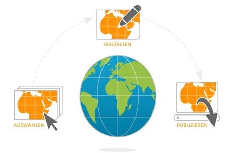StepMap - Landkarten online erstellen und für die Webseite oder Printzwecke verwenden | Geografie | Scoop.it