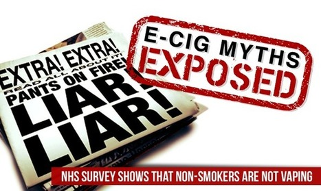 Non-Smokers Aren't Vaping   E-Cig Myths Exposed   The ECCR Blog   Scoop.it
