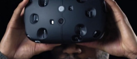 HTC Vive: This Is Valve's Virtual Reality Headset   4D Pipeline - trends & breaking news in Visualization, Mobile, 3D, AR, VR, and CAD.   Scoop.it