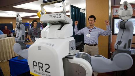 VIDEO. Le robot domestique multitâche PR2 fait évoluer la ... - Francetv info | Une nouvelle civilisation de Robots | Scoop.it