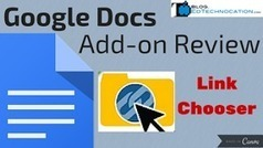 EdTechnocation: Google Docs Add-on Review: Link Chooser | Trees | Scoop.it