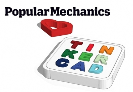 PopMech Likes Tinkercad for 3D Newbies | 3D Printing and Fabbing | Scoop.it