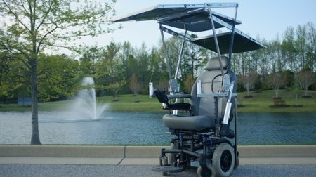 Student-built wheelchair runs indefinitely on solar power | Longevity science | Scoop.it