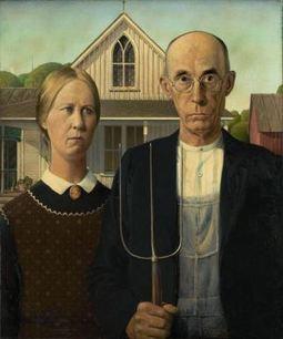 Grant Wood: American Gothic   Capire l'arte   Scoop.it