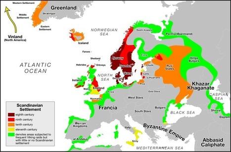 Vikings y la Inglaterra de los siete reinos - Mr. Domingo | Juego de Tronos | Scoop.it