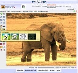 Retoucher des photos en ligne facilement et rapidement | Solices - Planete Web | Scoop.it