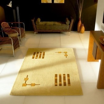 Alfombra moderna Gold Carving - OcioHogar.com | Muebles de diseño moderno | Scoop.it
