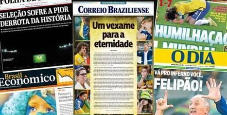 Brésil : sept buts, sept Unes [revue de presse] | Epic pics | Scoop.it