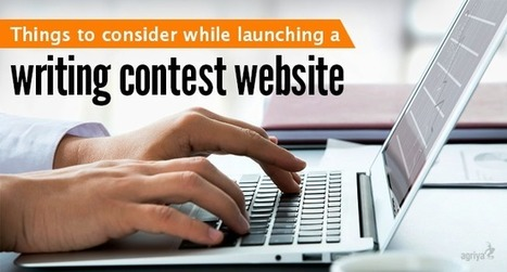 Essential things to be considered while launching a writing contest website | Contest Software - 99designs clone | Scoop.it