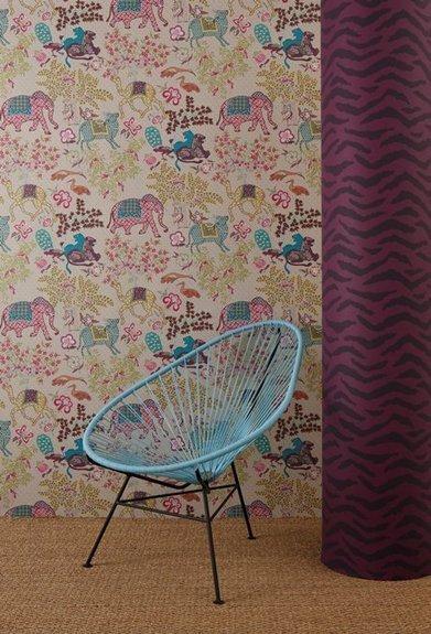 39 papier peint pierre frey 39 in tissu d 39 ameublement art textile et papier peint de luxe. Black Bedroom Furniture Sets. Home Design Ideas
