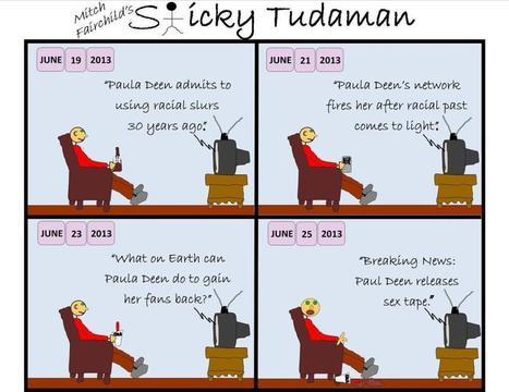 Sticky Tudaman On Paula Deen | Political Humor | Scoop.it