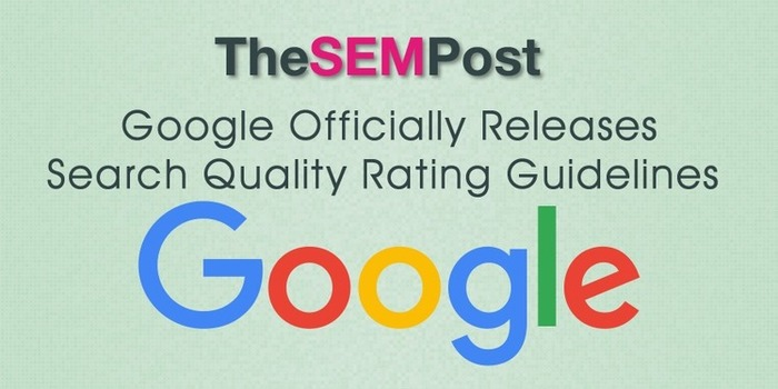 Google Officially Releases Search Quality Rating Guidelines | Business in a Social Media World | Scoop.it