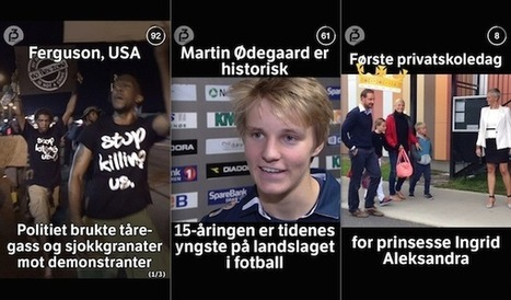 How a Norwegian public radio station is using Snapchat to connect young listeners with news | Convergence Journalism | Scoop.it