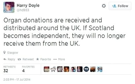 Remember, YOU WILL DIE | Referendum 2014 | Scoop.it
