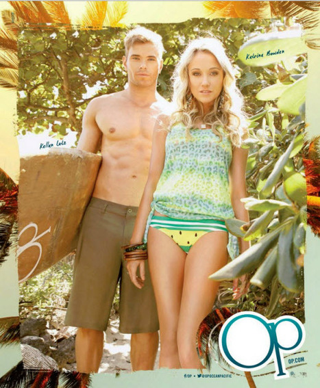 Kellan Lutz and Katrina Bowden Star in OP Spring-Summer 2013 Campaign - Sexy Balla | Daily News About Sexy Balla | Scoop.it