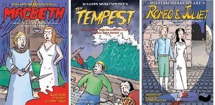 Macbeth, The Tempest & Romeo and Juliet   Shakespeare Comics   Scoop.it