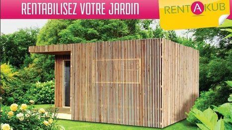 Une cabane en bois à louer aux étudiants ou touristes pour rentabiliser son jardin | Insolite | Scoop.it