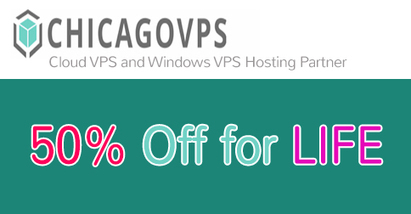 Latest ChicagoVps Coupon - 50% off Recurring Discount | THE BEST COUPON CODES | Scoop.it