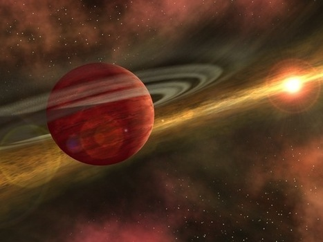 Giant Alien Planet Discovered in Most Distant Orbit Ever Seen - Space.com | Planet's | Scoop.it
