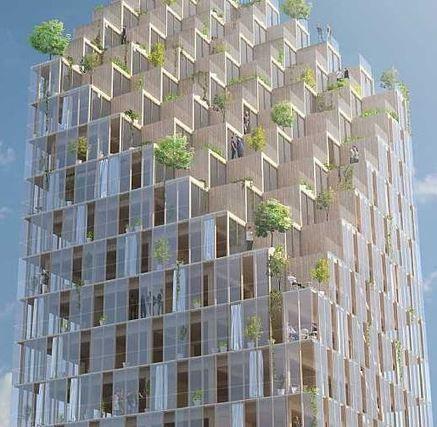 Le premier gratte-ciel en bois à Stockholm? | Dans l'actu | Doc' ESTP | Scoop.it