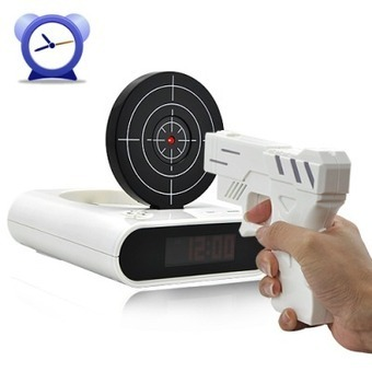 Wholesale Gun Alarm Clock From China | productos | Scoop.it