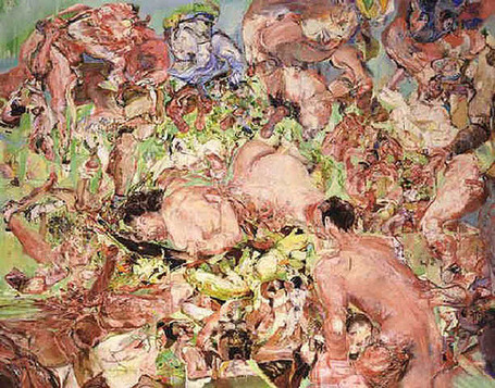 The Vanishing Boundaries of Cecily Brown :: Bluff | Catharsis | Scoop.it