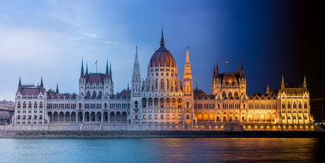 """See Budapest's Landmarks in a New Light with Greg Florent's """"Budapest Daynight"""" 