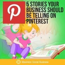 5 modi per raccontare il tuo business su Pinterest - News PMI Servizi | Storytelling aziendale | Scoop.it