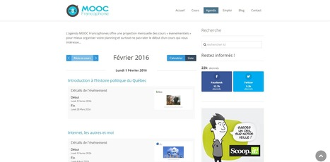 Tous les MOOC de Février sont en ligne dans la rubrique agenda | Coopération, libre et innovation sociale ouverte | Scoop.it
