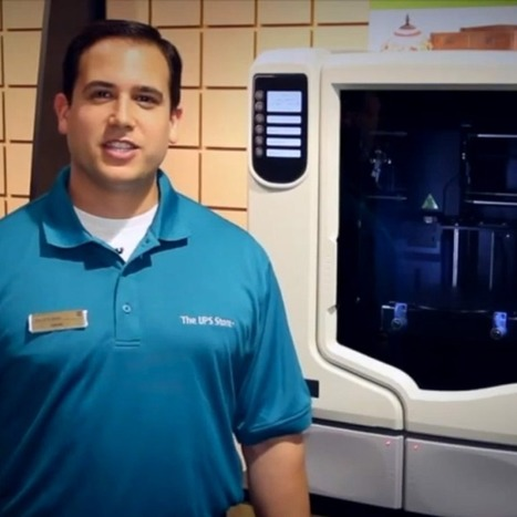 UPS Offers 3D Printing in Stores | M-learning, E-Learning, and Technical Communications | Scoop.it