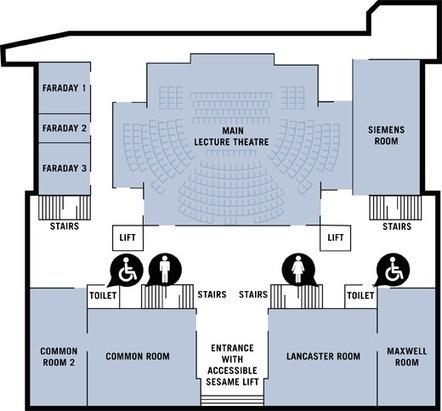 Interactive floor plan - IET Venues | Web Design Events Process Projects Management | Scoop.it